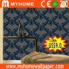 Papel de parede coreano novo do damasco do papel de parede de 2017 barato 106cm