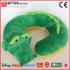 De zachte U-vormige Reis Neckpillow van de Krokodil van de Pluche van het Stuk speelgoed Dierlijke