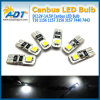 Супер света DC 12V 2SMD W5w T10 Canbus СИД белизны для шарика светильника поворота кабеля автомобиля