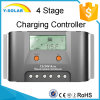 contrôleur solaire de 30A 12V/24V avec les statistiques d'énergie en temps réel Max30A-EU