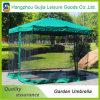 Desmontables convenientes impermeabilizan surgen los paraguas del jardín con la red de mosquito