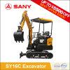 Sany Sy16c 1.6 tonne de mini Bagger amical Eco- d'excavatrice hydraulique de tunnel