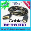 ShDp à l'ock du câble de DVI (Dpc802) absorbant la roue de roulette d'unité centrale
