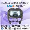 Coche DVD GPS Navigation Player para Mazda 2 (SD-6037)