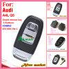 De Verre Sleutel van de auto voor Audi A2 A4 315MHz 8z0 837 231g met 4 Knopen