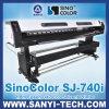 Sinocolor Sj-740I (인쇄 코드 기치, 접착성 비닐, 메시, 1 방법 비전) Eco 용해력이 있는 인쇄 기계