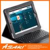 iPad (CASE002)를 위한 Bluetooth 키보드를 가진 가죽 케이스