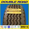 El carro de la venta al por mayor semi cansa el neumático doble 385/65r22.5 del camino
