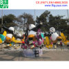 Езда панды Kongfu парка атракционов для сбывания (BJ-RR22)