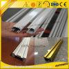 6063t5 rideau en aluminium de vente chaud Rod pour la décoration de meubles