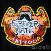 Знак татуировки судьбы Rorever неоновый
