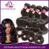 Выдвижение оптовых дешевых волос объемной волны выдвижения человеческих волос Remy девственницы бразильянина верхнего качества 100% естественных Weft соткет черноту (BHF-LBB1240)