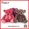 O urso de seda de Ted encheu o urso enchido urso da peluche