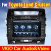 Reproductor de DVD GPS del coche para el crucero Prado de la tierra de Toyota