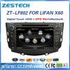 Lettore DVD dell'automobile per Lifan X60 con percorso radiofonico di GPS