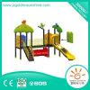 Напольное скольжение парка атракционов оборудования спортивной площадки для детей и малышей