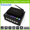 2GB RAM、8GB否定論履積Flash、Support Bluetooth4.0およびDual Band WiFi Zoomtak T8 Set Top Boxの人間の特徴をもつTV Box Meida Player TV Box