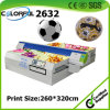 Solvent Flatbed Inkjet Digital PVC/PU Football Soccer Printer