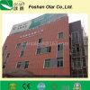 Placa à prova de fogo do revestimento do cimento da fibra do material de construção seguro