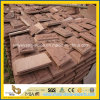 Sandstone rosso Mushroom Tile per Exterior Wall Cladding