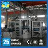 Máquina de fabricación de ladrillo concreta del hueco del cemento de la productividad grande de la luz del sol