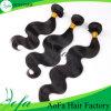 Estensione brasiliana dei capelli umani dei capelli del Virgin non trattato di Guangzhou di modo