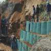 Hescoの洪水の障壁のGabionの障壁