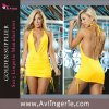 Women's Halter Backless Bodycon Night out Dress Deep (SK01-037)