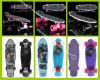 لوح التزلج بلاستيكيّة مع حارّة يبيع ([يفب-2206-4])