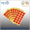 Etiqueta engomada adhesiva en forma de corazón modificada para requisitos particulares venta caliente del indicador (QYM2806)