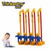 La tierra de Thinkertoy bloquea la silla que cae libre educativa del parque de atracciones de la serie del parque del juguete (P6203)