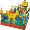 Крытая спортивная площадка для малышей/капризный замок