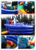Kids JumpingのためのタートルInflatable Climbing Wall Bouncer