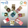 Rectángulo de papel plegable del caramelo caliente de la venta con la impresión (QYM2517)