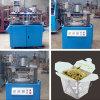 Máquina manual de la fabricación de cajas del almuerzo