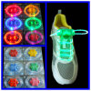 Cordones coloridos ultrabrillantes del LED