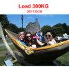 Camping&Travel를 위한 Pellor Dichromatic Portable Parachute Nylon Fabric Hammock