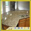 Brown Giallo Fiorito Granite Countertop для Kitchen/ванной комнаты