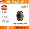 alambre de soldadura plástico de China MIG de la herida de la capa de la precisión del carrete 1kg de 0.9m m (ER70S-6)