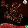 Luz Papá Noel de la cuerda del LED con la luz de la Navidad de la estrella para la decoración de la iluminación del día de fiesta