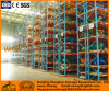 Durable Steel Heavy-Duty Storage Racking avec Teardrop Étape Faisceau