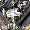 Metal pneumático válvula de esfera Jacketed assentada