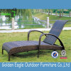 Lounger atraente de Sun do Rattan