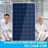 Centrale elettrica del comitato solare di PV delle Q-Celle/modulo/prodotto 270W 280W