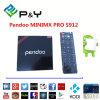 2016 Hete Verkopende de octa-Kern Amlogic van Pendoo Minix PROS912 de octa-Kern van de Doos van TV Slimme Doos Ondersteunend WiFi en Bluetooth Androïde 6.0 Heemst Kodi16.1