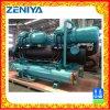 Tipo Semi-Hermetic de refrigeração dobro marinho refrigerador do parafuso da água fresca do sistema