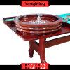 Roda roleta da madeira contínua padrão 32 do jogo luxuoso do casino da  dedicada para a tabela Ym-RW01 do póquer da roleta