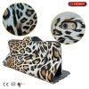 Leopard PU-lederner Kasten-Handy-Fall