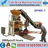 Piccola riga della macchina di formatura del mattone del lastricatore del manuale Qt40c-1 della Tunisia/macchina del mattone