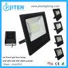 El LED que enciende la luz de inundación al aire libre 100W adelgaza la luz al aire libre de la lámpara de inundación IP65